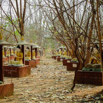 전일 모니와 관광 투어 (만달레이)